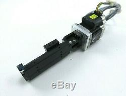 Misumi LX20 Linear Ballscrew Actuator with IMS MDM1PSD23A7 MicroStepping Motor
