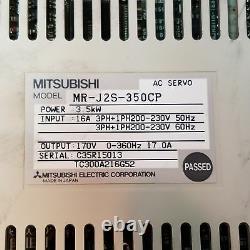 Mitsubishi MR-J2S-350CP Servo Motor Drive 3.5 kW, 16 Amp 3 Phase 230V USED