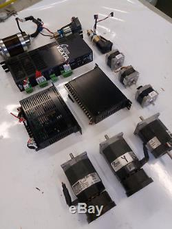 Motion Parts Kit Cnc Servo Motor Stepper 3d Printer Router Engraver Thk Vexta