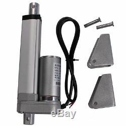 Motor Mini Actuador Electrico Tubular Movimiento Lineal 200mm 750N Carga 12V DC