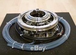Motorized Dual Vertical Z-axis & Dual Rotation Stage Keyence Fiber Optic