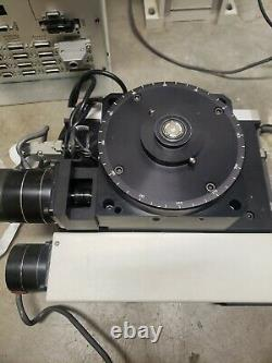 Motorized XYZ Axis Rails 360 deg Rotating Stage from J-MAR Wafer Scriber System