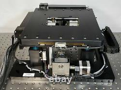 Motorized XYZ Stage with Galil DMC-4030, Renishaw TONiC 0.1um Encoders 130x130x5mm