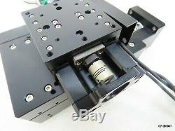 Motorized XY Axis Stage witho motor little dent Surplus stock ACT-I-98=1G11