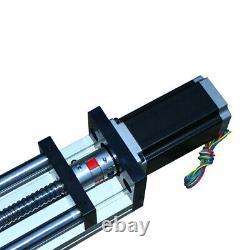 NEW CNC Linear Slider Guide Sliding Block 1000mm with 57 Stepper Motor THK90 USA