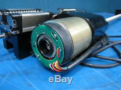 NSK MOTORIZE STAGE 9041500 STEP MOTOR 24in LINE ACTUATOR W RENISHAW RGH22R20D00