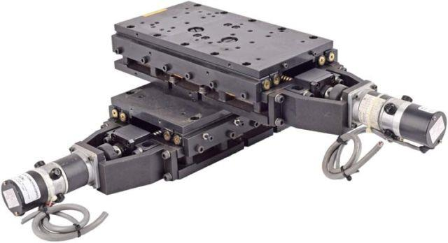 Nsk Precision 7x6.5 Travel Motorized 2-axis Ball Screw Linear Translation Stage