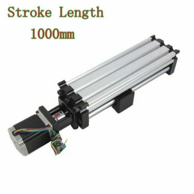 New 1000mm Ball Screw Linear Cnc Slide Stage Actuator With 24v 57 Stepper Motor