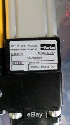 New Parker Electric Linear Actuator Cylinder Emx050593 Be233fj-kpsmn Motor