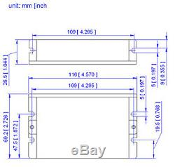New Screw Linear Stepper Motor NEMA23 57mm 1.8N. M TR88(P2)300mm For 3D Printer
