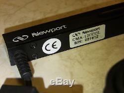 Newport CMA-12CCCL Motorized Linear Actuator, ESP, 0.5 Range, Closed Loop