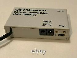 Newport LTA-HS Motorized Actuator, Integrated with CONEX-CC Controller