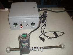 Oriental Motor Linear Actuator with Speed Controller & Limit Switches Tests OK