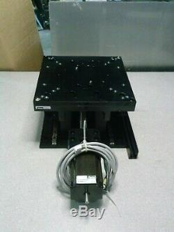 PARKER LV Series Stepper Motor with Rail Guided Vertical Positioning Table