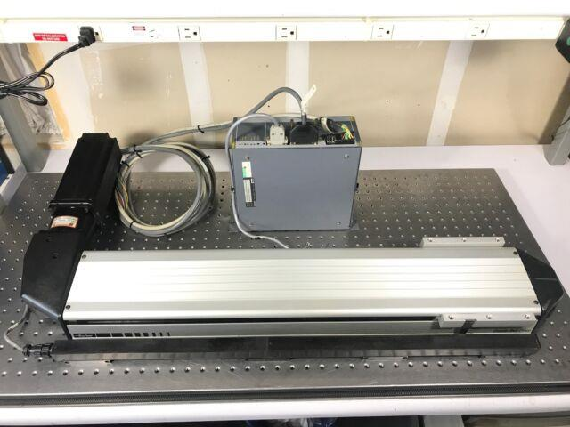 Parker 24belt Driven Round Rail Linear Stage With Servo Motor & Driver Blh150b