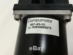 Parker 404200XRMSD3H7L6C3M3E1B1R1P1 Linear Actuator Stage 200mm withMotor, Encoder