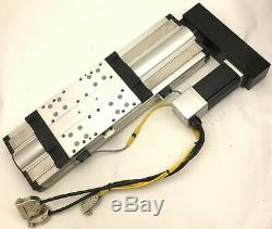 Parker 406200XR Precision Linear Actuator Positioner Stage 200mm Travel withMotor