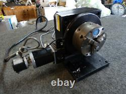 Parker Daedal 081-6063 Motorized Linear Table 4 Yuasa B813 3 Jaw Indexing Chuck