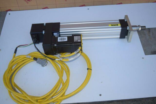 Parker Et050b05pd000f Linear Ballscrew Actuator With Be232dj-k10 Motor #209680-p3