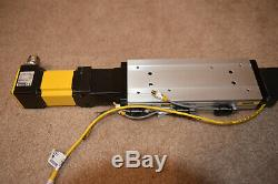 Parker Linear Actuator withBE232DQ-NPSN Servo Motor and Aries Drive Tested