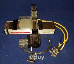 Parker Linear Stage Drive System 802-3601C with Animatics Smart Motor SM2315D