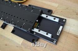Parker MX80L 150mm Linear Servo Motor Actuator Stage 0.01um Encoder with Vix250IH