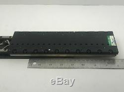 Parker MX80L 200mm Precision Linear Servo Motor Actuated Stage. 01um Resolution