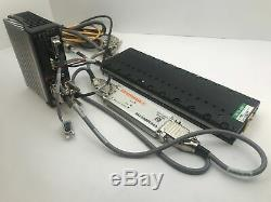 Parker MX80L 200mm Precision Linear Servo Motor Actuated Stage withViX250IH Driver