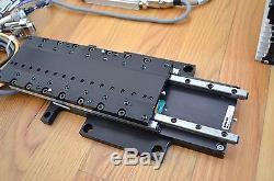 Parker MX80L Linear Servo Motor Actuator Stage 0.01um Encoder & ViX-250IH Drive