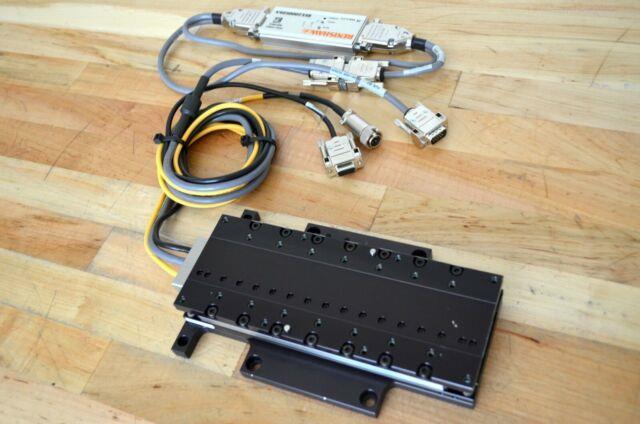 Parker Mx80l Linear Servo Motor Actuator Stage 150mm Travel With 0.01um Encoder