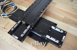 Parker MX80L Linear Servo Motor Actuator XY Stage & ViX-250AH Drive Mach3 Tested