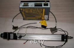 Parker motorized linear actuator ETS32, 300mm, compumotor, Zeta 4-240 drive