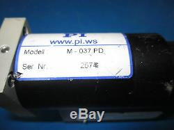 Physik Istrumente M-037. PD Micropositioning Actuator Motor
