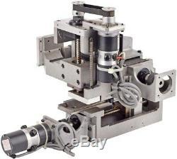 Precision XYZ 4x3x1 Travel Motorized 3-Axis Ball Screw Linear Translation Stage
