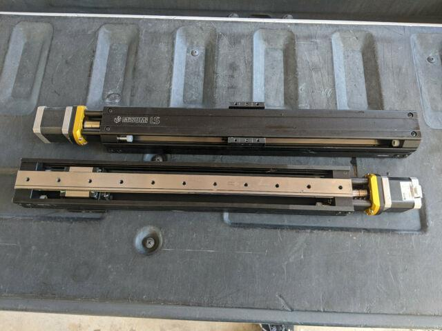 Qty2 Misumi Ls10 Linear Actuator With Stepper Motor 300mm Travel Ls1002-300-t42