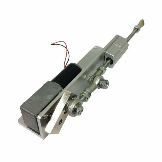 Reciprocating Cycle Linear Actuator With Dc Gear Motor 24 Volt Stroke For Diy