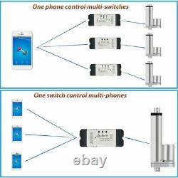 Remote Control Mobile Electric Linear Actuator WiFi Switch Motor Forward Reverse