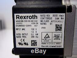 Rexroth MSM030B Servo Motor with NB BG3310A-300H /A4CS Ball Screw Actuator
