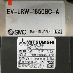 SMC 185cm Linear Actuator with NSK Rail/Bearings Mitsubishi 750W AC Servo Motor