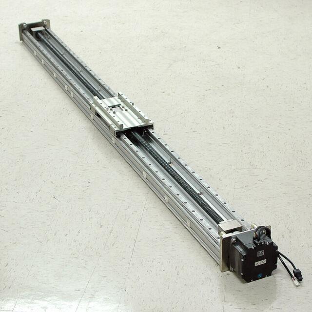 Smc 189cm Linear Actuator With Nsk Rail/bearings Mitsubishi 750w Ac Servo Motor