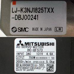 SMC 1.8 meter 182cm Travel Linear Actuator Mitsubishi 750W AC Motor NSK 88rails