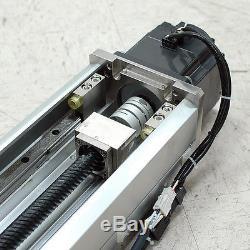 SMC 1.8 meter 72 Travel Linear Actuator Mitsubishi 750W AC Motor NSK 81rails
