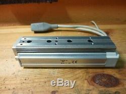 SMC LESH8RK-75B-R36P3 Linear Actuator + SMC LECP6P3 LESH8RK-75 Step Motor (5271)