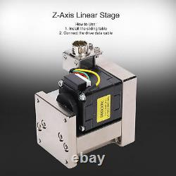 SPZ46 ZAxes Linear Stage Horizontal Ball Sliding Table 40x40mm with Drive+Motor