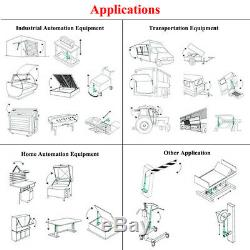 Set of 2PCS18Stroke Linear Actuators 330 Pound Load 12Volt Motor & Brackets IG