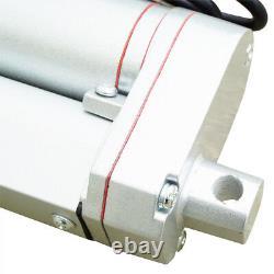 Set of 2X Heavy Duty 8 Stroke Linear Actuator 330lbs 12V DC Motor for Car Door