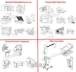 Set of 2 6 Stroke Linear Actuators Heavy Duty 150KG 330lbs Max Lift DC12V Motor