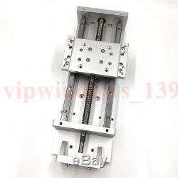 Slding Table XYZ Axis 600mm Stroke Motorized Linear Stage Cross Slide SFU1605 C7