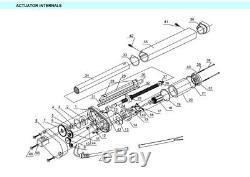 Small Linear Actuator DC 12V 24V Storke 50mm1200mm Heavy Duty DIY Lift Motor