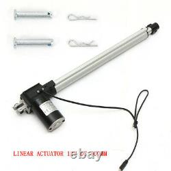 Stroke Electric Linear Actuator Heavy Duty 1320lbs Load 12 Volt DC Motor 500mm